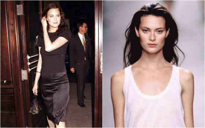 """<p> Cùng với Kate Moss, Shalom Harlows là một trong những đại diện tiêu biểu của thế hệ """"waif models"""" - những cô gái gầy gò, đôi mắt buồn bã thâm quầng và cơ thể siêu gầy. Khoảnh khắc ấn tượng nhất sự nghiệp của Shalom chính là khi cô kết show Alexander McQueen năm 1999. Chiếc váy quây mà Shalom mặc khi đó đã trở thành một trong những chiếc váy làm thay đổi lịch sử thời trang hiện đại.</p>"""