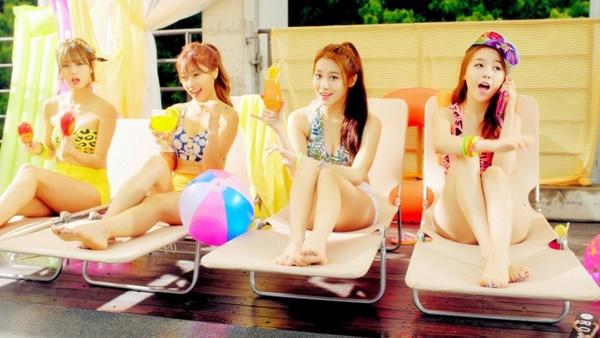 Nhóm Girls Day vừa kỷ niệm 8 năm debut.