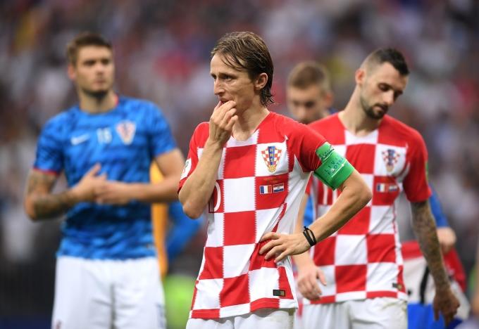 <p> Sự hụt hẫng của Quả Bóng Vàng World Cup 2018, Luka Modric khi anh không thể cùng các đồng đội viết nốt phần kết đẹp đẽ cho câu chuyện cổ tích của bóng đá Croatia.</p>