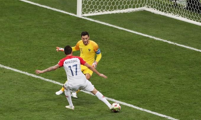 <p> Thêm một sai lầm ngớ ngẩn nữa từ các thủ môn tại World Cup 2018, lần này là thủ thành Hugo Lloris của đội tuyển Pháp. Anh đã tặng không cho Croatia một bàn thắng và đánh mất danh hiệu Thủ môn xuất sắc nhất giải.</p>