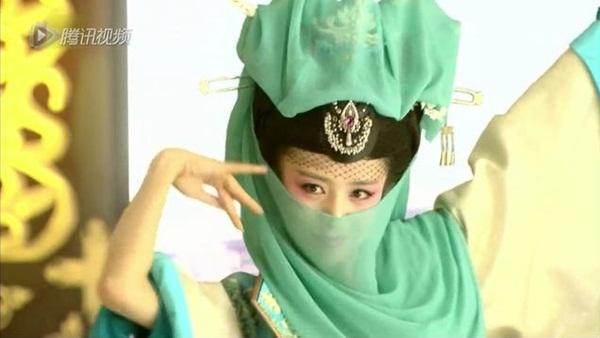 11 mỹ nhân che mặt trong phim Hoa ngữ, bạn có nhận ra? - 1