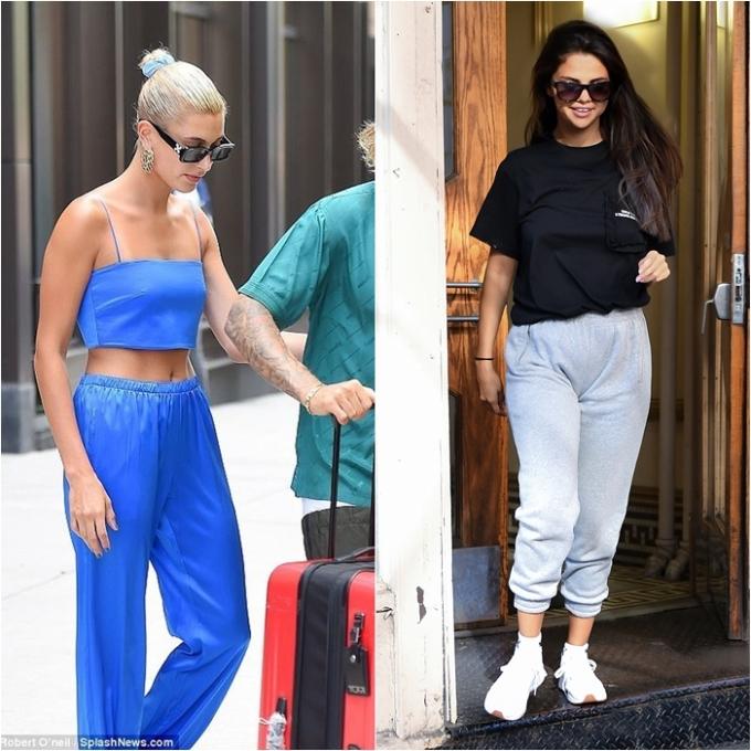 """<p> Đầu tháng 7, Selena ra đường với set quần nỉ, áo phông và giày sneaker năng động. Đặc biệt, dòng chữ """"Only The Strong Survive"""" (Chỉ những người mạnh mẽ sống sót) in trên áo Selena bị cho là <a href=""""https://ione.net/tin-tuc/thoi-trang/phong-cach-sao/thong-diep-thu-vi-tren-ao-cua-selena-sau-tin-justin-bieber-dinh-hon-3776300.html"""">thông điệp đầy ẩn ý</a> giữa """"tâm bão"""" Hailey-Justin.</p>"""
