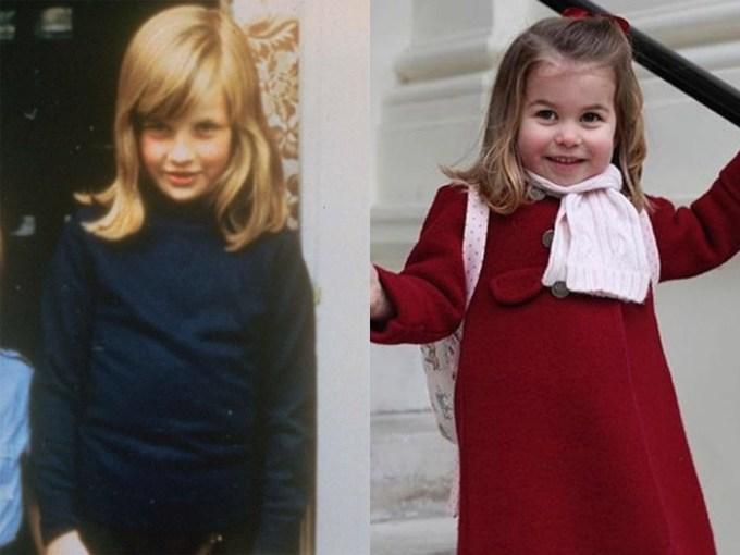 """<p> Bình luận về sự giống nhau """"như hai giọt nước này"""", một người dùng trên Instagram nói: """"Thật bất ngờ. Càng lớn cô bé càng giống Công nương Diana. Charlotte thực sự thừa hưởng ánh nhìn cương nghị từ bà nội"""".</p>"""
