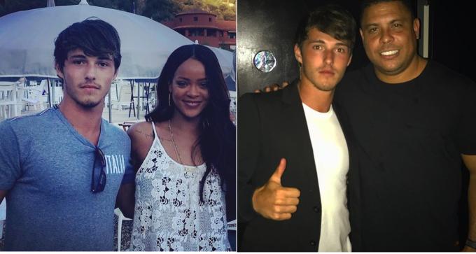 """<p> Là con trai của huấn luyện viên nổi tiếng, Dylan có nhiều cơ hội tham dự các trận đấu bóng đá và các sự kiện xã hội. Anh từng gặp gỡ các ngôi sao như huyền thoại Ronaldo """"Béo"""", Antoine Griezmann, nữ ca sĩ Rihanna.</p>"""