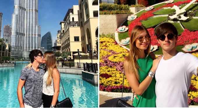 <p> Dylan Deschamps đang hẹn hò với cô gái trẻ tên Mathilde. Cặp đôi tích cực khoe ảnh tình tứ trên mạng xã hội Instagram. Anh chàng thường xuyên dành cho bạn gái những cử chỉ ngọt ngào và tận hưởng những chuyến nghỉ dưỡng lãng mạn.</p>