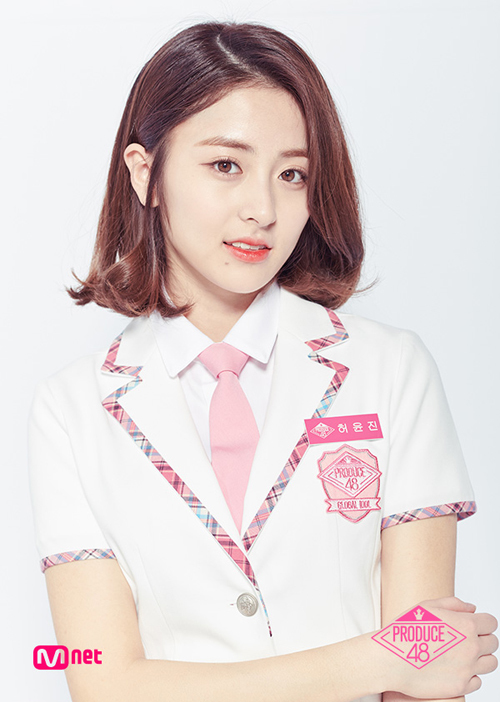 Đóa hồng 18 tuổi xinh xắn của công ty Pledis Entertainment đang được đánh giá là gương mặt triển vọng của show thực tế sống còn giữa 96 thí sinh