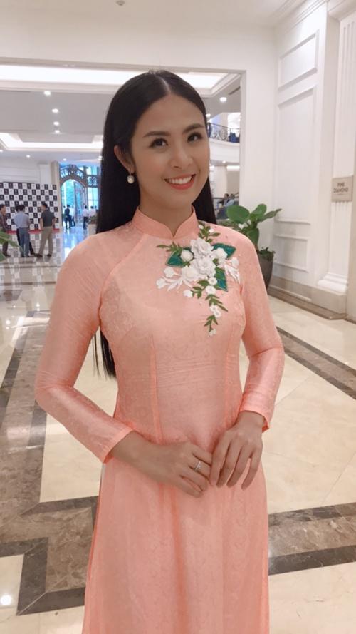 Hoa hậu Ngọc Hân.