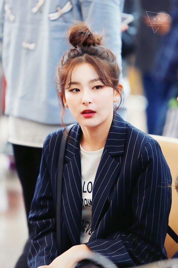 <p> Seul Gi là đại diện duy nhất của Red Velvet trong top 10.</p>