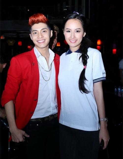 Noo Phước Thịnh có mối quan hệ thân thiết với Hoa hậu Mai Phương Thúy từ nhiều năm nay. Họ từng đồng hành với nhau trong nhiều sự kiện.