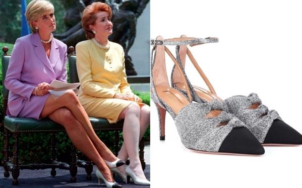 3 mẫu giày cao gót thập niên 90 của Công nương Diana - 1