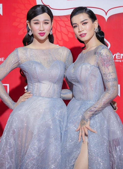 Vóc dáng như sinh ra để giả gái của bộ đôi BB Trần - Hải Triều - 2