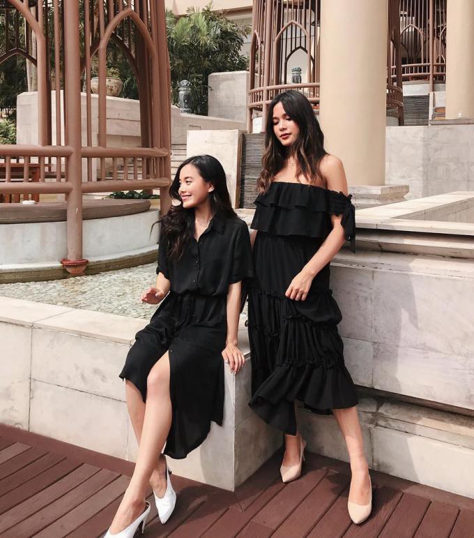 <p> Là người Việt 100% nhưng Alexandra - Tsutsumi sinh ra và lớn lên tại Na Uy. Hai chị em làm việc trong lĩnh vực thời trang từ khá sớm, có phong cách phóng khoáng và cách trang điểm đậm chất Tây nên thường xuyên bị nhầm là gái Tây.</p>