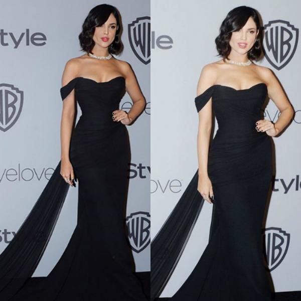 Nữ diễn viên Eiza Gonzalez phiên bản Instagram (ảnh trái) và phiên bản thực tế (ảnh phải).