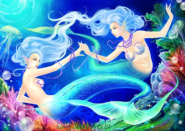 Lạc vào chốn thần tiên đầy màu sắc cùng với tranh minh họa 12 chòm sao - 11