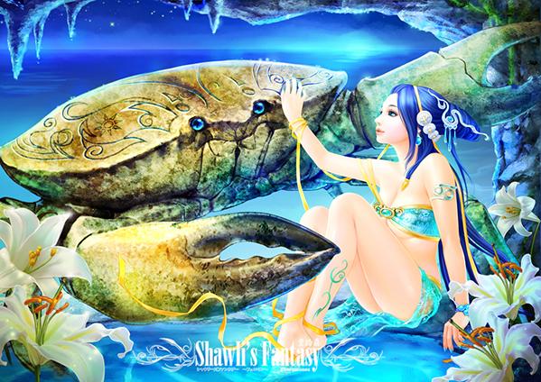 Lạc vào chốn thần tiên đầy màu sắc cùng với tranh minh họa 12 chòm sao - 3