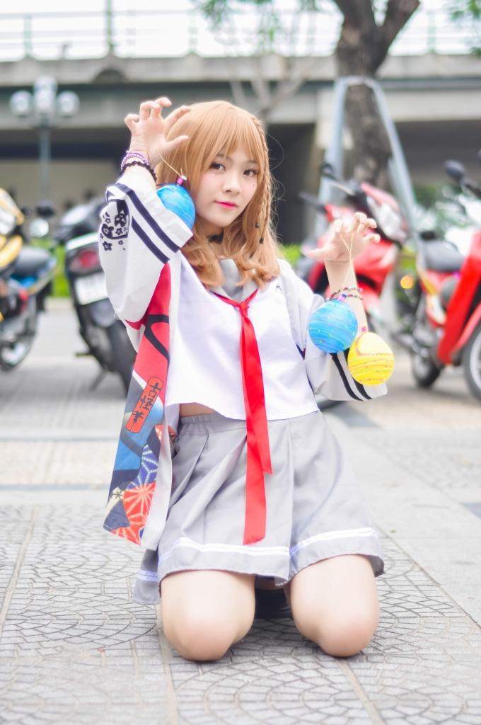 Girl xinh Đà Nẵng say sưa cosplay với nhiều hình tượng cầu kỳ