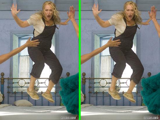 Phát hiện điểm khác biệt trong phim Mamma Mia - 7