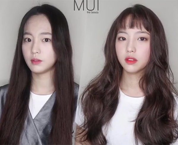 Những màn makeover, thay đổi kiểu tóc vốn rất quen thuộc trên mạng xã hội Trung Quốc. Các salon tóc xứ kim chi không chỉ tư vấn mà còn tạo cho các cô gái một mái tóc phù hợp gương mặt nhất, giúp họ thêm tự tin vào bản thân.