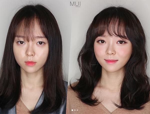 Nhiều cô gái có nhan sắc khá bình thường, sau khi lột xác với kiểu tóc hợp thời bỗng trở nên xinh đẹp, hút mắt hơn hẳn.