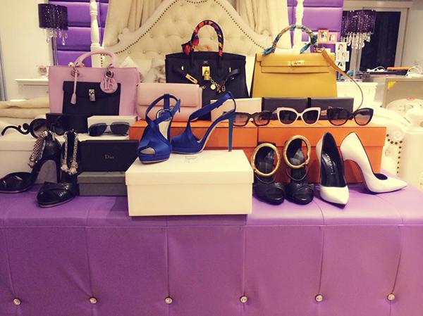 Trung bình một lần shopping, người đẹp có thể chi từ 200 triệu đồng đến 1 tỷ đồng.