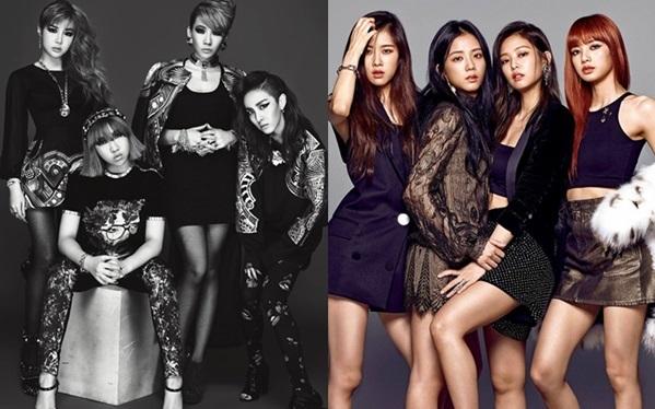 Black Pink luôn bị so sánh với 2NE1 vì nhiều điểm tương đồng về đội hình, phong cách và màu sắcâm nhạc,