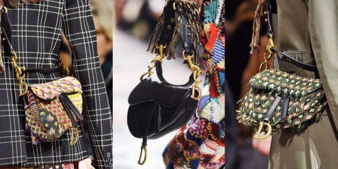 <p> 2018, quay trở lại, túi Saddle với những điểm cộng mới mẻ khi không chỉ sở hữu quai ngắn cầm tay mà còn có cả quai dài, tạo diện mạo mới cho tín đồ thời trang khi có thể thoải mái đeo chéo. Maria Glazia Chiuri - giám đốc sáng tạo của Dior chính là người có công rất lớn trong việc tạo nên độ hot trở lại cho món đồ này.</p>