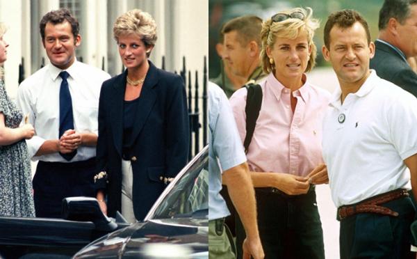 Paul Burrell từng là quản gia thân thiết của Công nương Diana.