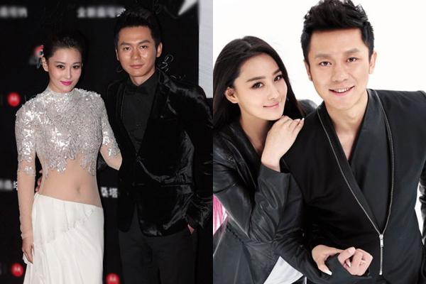 Lý Thần và Trương Hinh Dư từng có nhiều hình ảnh thân mật, tỏ tình sến rện.