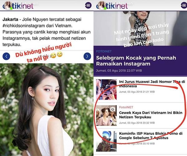 Ngay cả Jolie Nguyễn khi biết tin cũng bất ngờ về thông tin này.