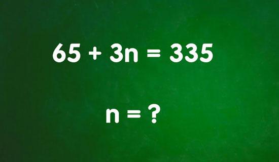 Bạn có thể tính nhẩm nhanh 5 phép tính này? - 1