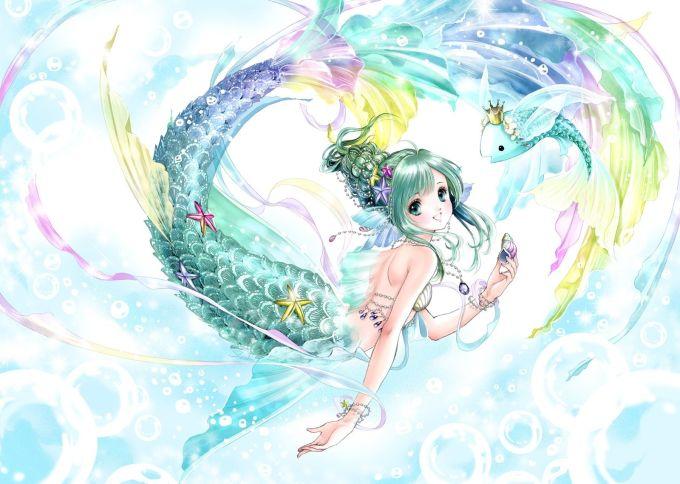 <p> SONG NGƯ: Ngọt ngào và đáng yêu, nàng tiên cá cung Song Ngư luôn mang lại ấn tượng khó phai với người đối diện với phong cách đúng chuẩn các nàng loli chính hiệu trong anime.</p>