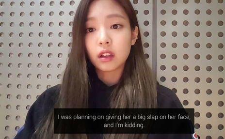 Câu nói đùa của Jennie gây tranh cãi.