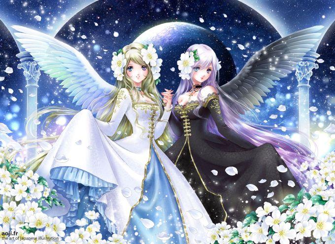 <p> SONG TỬ: Cặp chị em song sinh xinh đẹp như hai thiên thần đại diện cho bóng tối và ánh sáng.</p>
