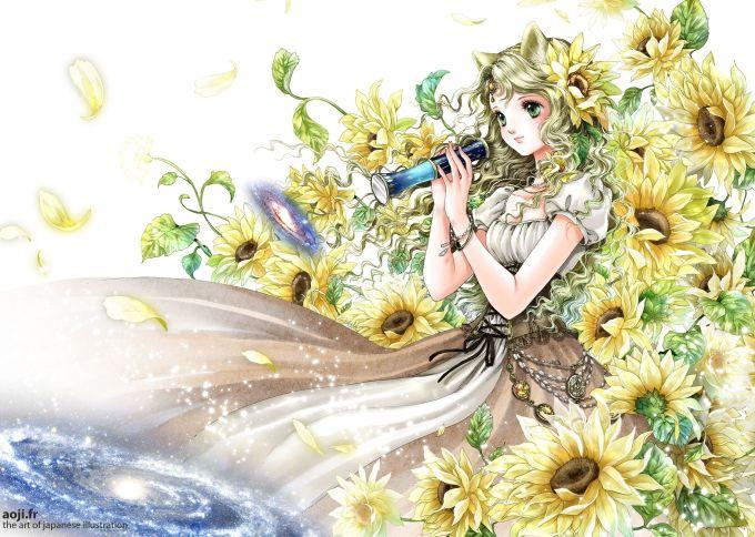<p> SƯ TỬ: Trút bỏ vẻ ngoài sang chảnh thường thấy, cô nàng chúa tể sơn lâm như một nàng công chúa xinh tươi, tràn đầy sức sống bên loài hoa hướng dương - biểu tượng của chòm sao Sư Tử.</p>