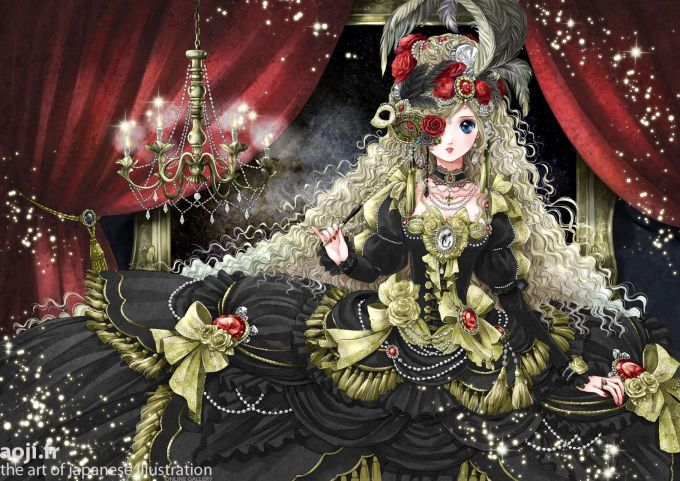 <p> BÒ CẠP: Vẫn giữ nét bí ẩn, quyến rũ với gam màu đen, tuy nhiên, nàng Bò Cạp phiên bản anime lại phảng phất nét ngây thơ của một cô bé đang ở độ xuân thì.</p>
