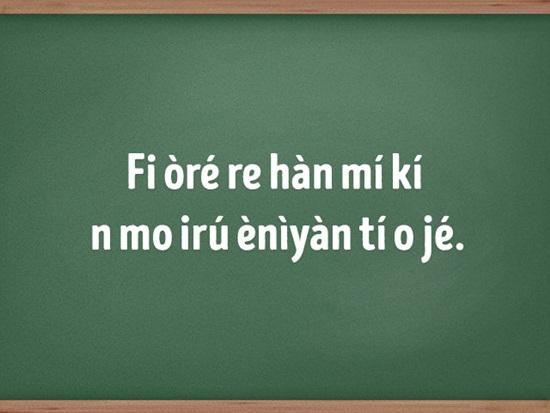 Đây là ngôn ngữ của cộng đồng nào? - 5