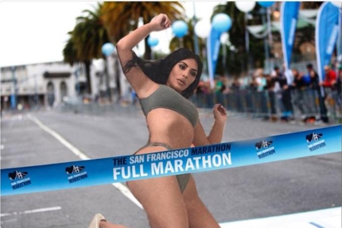 <p> Hay kịp thời cán đích trong cuộc thi chạy marathon.</p>