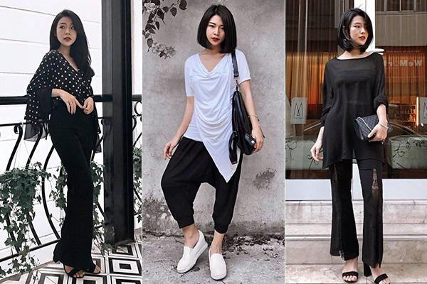 Cô gái sinh năm 1996 đổi mới phong cách liên tục, khi điệu đà tiểu thư khi lại rất hầm hố. Tuy nhiên cô nàng chỉ trung thành với hai màu sắc đen và trắng, từ quần áo cho đến phụ kiện. Rất hiếm khi Thanh Huyền diện tông nào khác ngoài hai gam trung tính này.