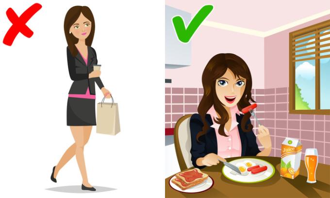 <p> Các nhà nghiên cứu đã xác nhận rằng những người ăn sáng có xu hướng tăng cân ít hơn những người bỏ qua nó. Nghiên cứu kiểm tra 350 người lớn cho thấy người ăn sáng mỗi ngày có vòng eo nhỏ hơn so với những người không ăn bữa sáng. Nếu bạn bỏ qua bữa sáng, bạn sẽ có xu hướng đói bụng và ăn nhiều hơn vào bữa trưa.</p>
