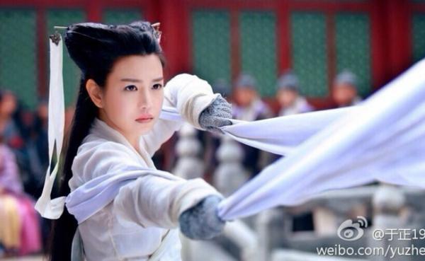 Tạo hình của Trần Nghiên Hy trong vai Tiểu Long Nữ bị chê vì quá bánh bao.