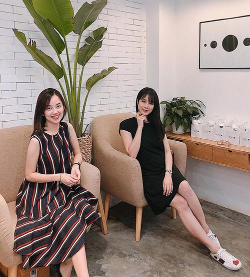 Ly Kute đến thăm cô em gái thân thiết Diệp Lâm Anh.