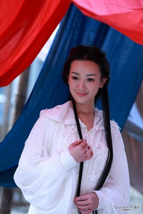 Trương Mông bị gọi là Vương Ngữ Yên phiên bản thôn nữ.