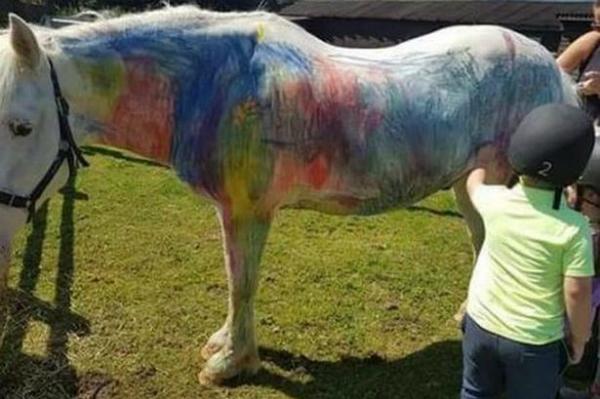 Trào lưu vẽ lên ngựa bắt đầu được chú ý tại Anh.