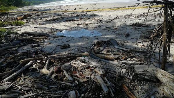 Xác của Mathus được tìm thấy trên bờ biển El Carmen, Costa Rica.