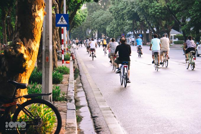 Có một Hà Nội của người già và xe đạp