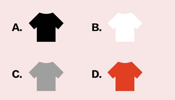 Trắc nghiệm: Phân tích sơ lược con người bạn qua màu sắc chiếc áo phông