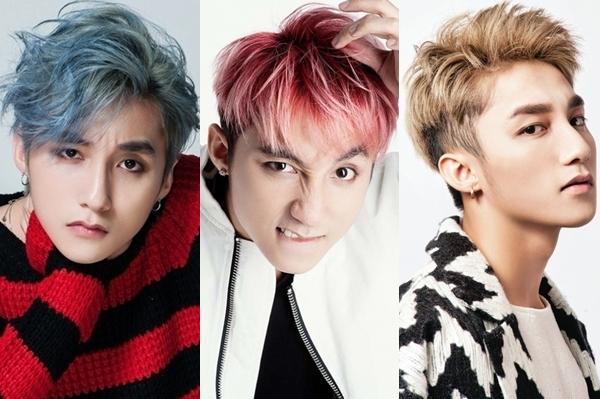 Ngoài cách ăn mặc coll ngầu thì đặc sản của Sơn Tùng phải kể đến kiểu tóc luôn được thay đổi với nhiều màu sắc khác nhau. Một Sơn Tùng nổi loạn, cá tính là điều dễ dàng nhận ra.