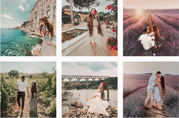 Những bức ảnh sống ảo lung linh của công chúa tóc mây tại Việt Nam - 3