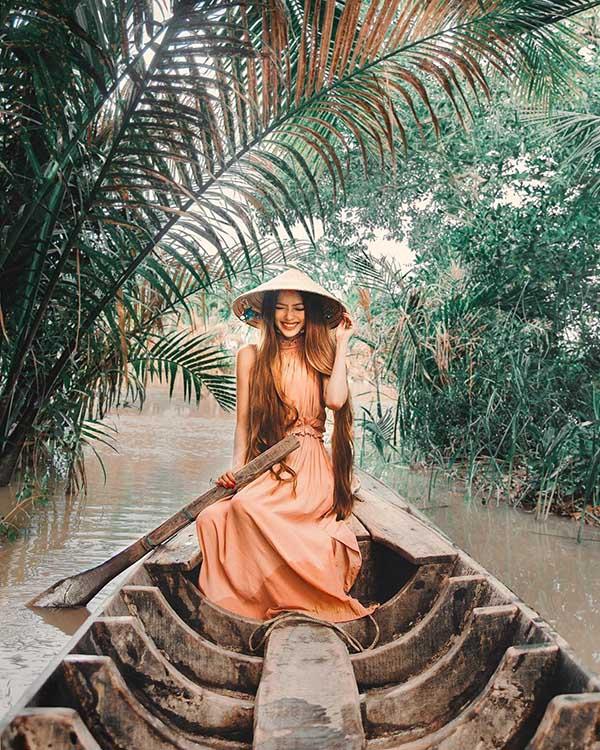 Sarah Trần tại Trà Vinh