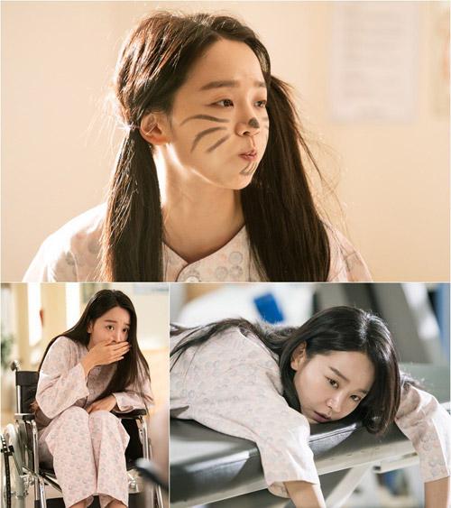 Diện mạo ngây ngô tuổi 17 của Shin Hye Sun trong phim.